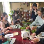のぐさ(ハーブ)茶会10月はフレッシュハーブでした